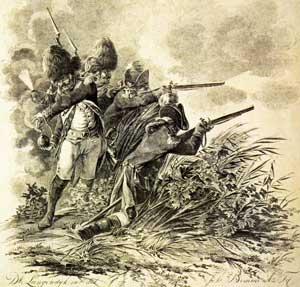 1799 bataven in de duinen
